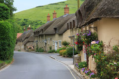 Houses in the little village lulworth Royalty Free Stock Images