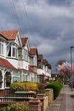 houses london arkivbilder