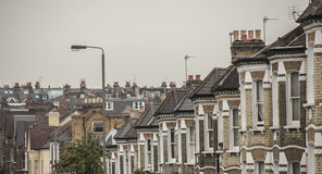 Houses in London. Stock Photography