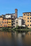 Houses of Lungarno, Florence, Tuscany, Italy Royalty Free Stock Photos