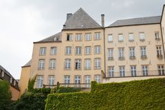 Houses in Luxembourg Stock Photography
