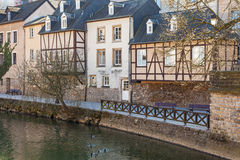 Houses in Luxembourg Stock Image