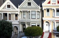 houses målad damtoalett arkivfoto