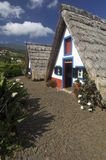 Houses in Madeira island Royalty Free Stock Images