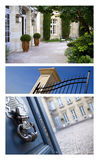 Houses and mansions Stock Photos