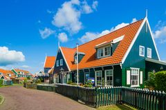 Houses in Marken Royalty Free Stock Image