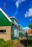 Houses in Marken Royalty Free Stock Images