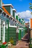 Houses in Marken Stock Images