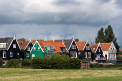 Houses Marken Holland Royalty Free Stock Images