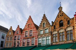 Houses in Market square Royalty Free Stock Image