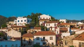 Houses in Marmaris village,  Turkey Stock Photography