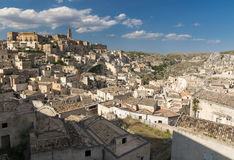 Houses of Matera, Italy Stock Images