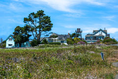 Houses  in Mendocino, California Stock Photos