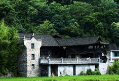 Houses Of Miao Minority Stock Images