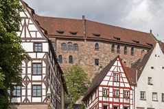 Houses from the middle ages Royalty Free Stock Image