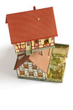 Houses miniature model toy 2 Royalty Free Stock Images