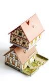 houses miniature model toy 3 Stock Photos