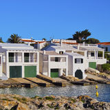 Houses on Minorca Royalty Free Stock Images