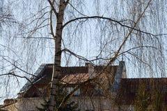 Houses of Minsk Stock Image