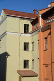 Houses of Minsk Royalty Free Stock Images