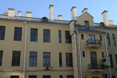 Houses of Minsk Royalty Free Stock Photos