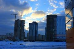 Houses in Minsk Stock Photo