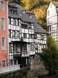 Houses in  Monschau, Germany Royalty Free Stock Image