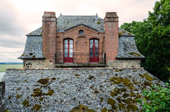 Houses in Mont Saint Michel � Normandie, France Stock Photos