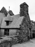 Houses in Mont Saint Michel � Normandie, France Stock Images