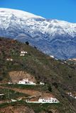 Houses in mountains, Andalusia, Spain. Stock Photo