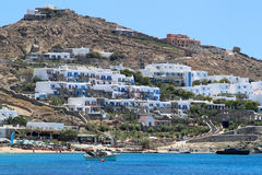 Houses at Mykonos, Greece Royalty Free Stock Photography