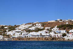 Houses at Mykonos, Greece Stock Photography