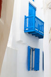 Houses of Mykonos island in Greece Royalty Free Stock Photos