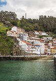 Houses near the sea in Cudillero Royalty Free Stock Photography