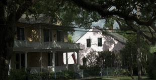 Houses in New Orleans Louisiana USA Stock Images
