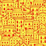 Houses New Pattern 7 Stock Photo