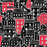 Houses New Pattern 6 Stock Photo