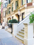 Houses of New York Royalty Free Stock Photography