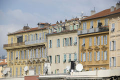 Houses of Nice, France Royalty Free Stock Image