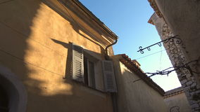 Houses in Nice France stock video footage
