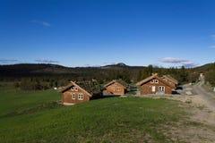 houses norrman Royaltyfria Bilder