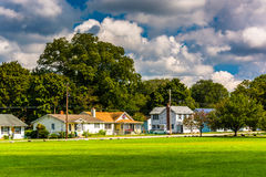 Houses in North East, Maryland. Royalty Free Stock Photos