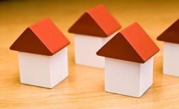 houses nytt royaltyfri foto