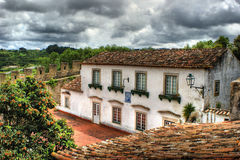 Houses of Obidos Stock Photography