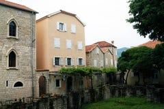 Houses Old Budva Stock Photo