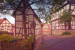 Houses in old German style Royalty Free Stock Photography