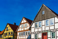 Houses in old German style Stock Photo