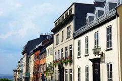 Houses in old Quebec city Royalty Free Stock Photography
