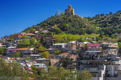 Houses in old Tbilisi Stock Image