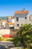 Houses in Old Town, Budva. Montenegro Stock Photos